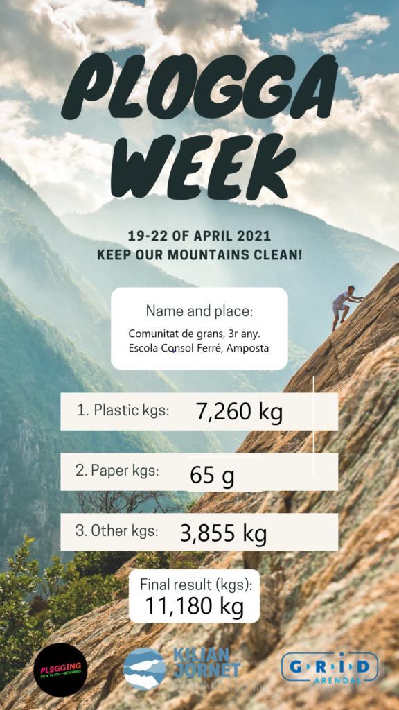 Plogga week, setmana de recollida selectiva en espais naturals